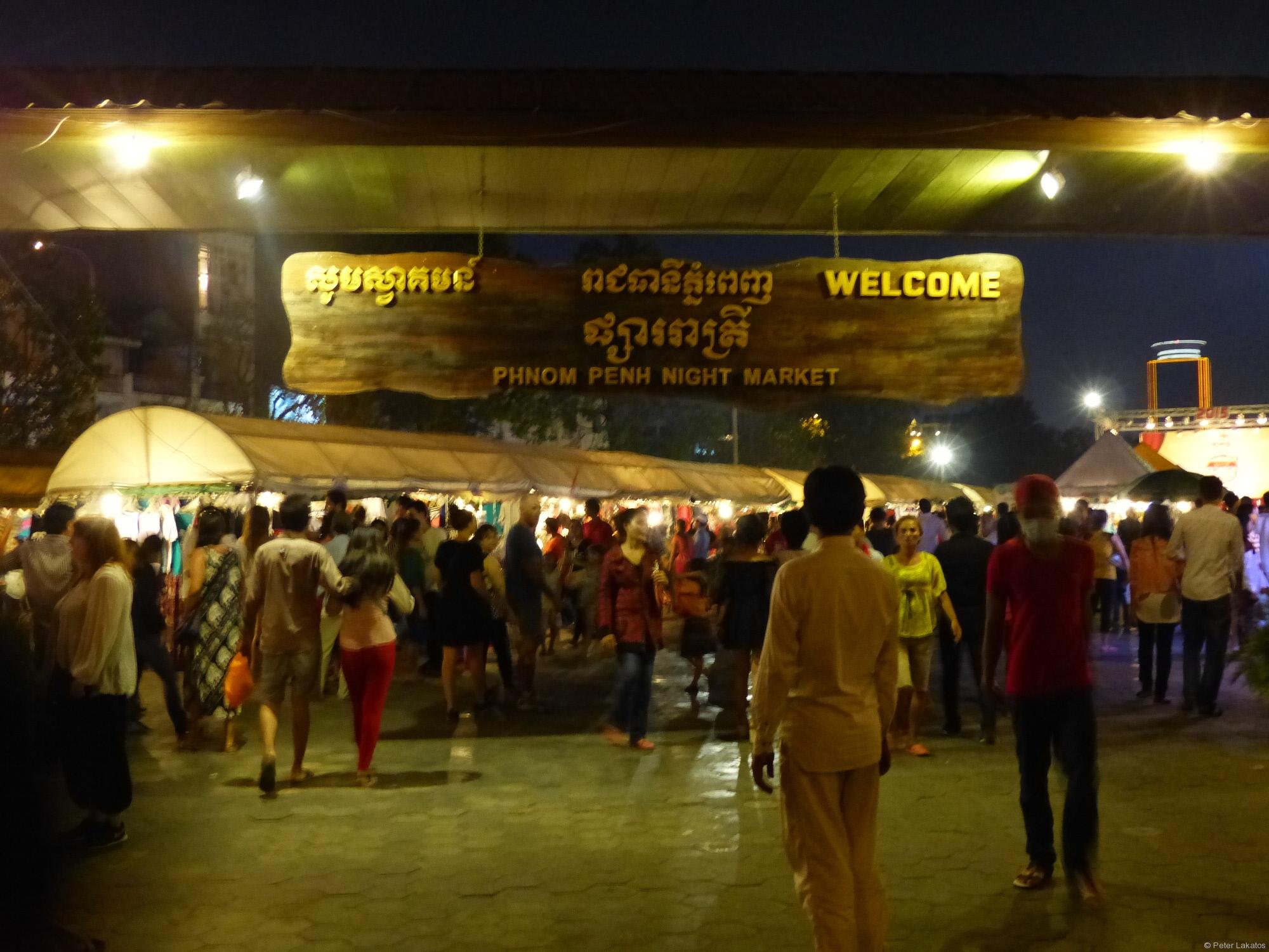 Phnom Penh Nachtmarkt