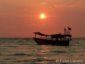 Sonnenuntergang auf Koh Rong