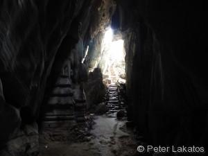 Tempel in der Höhle