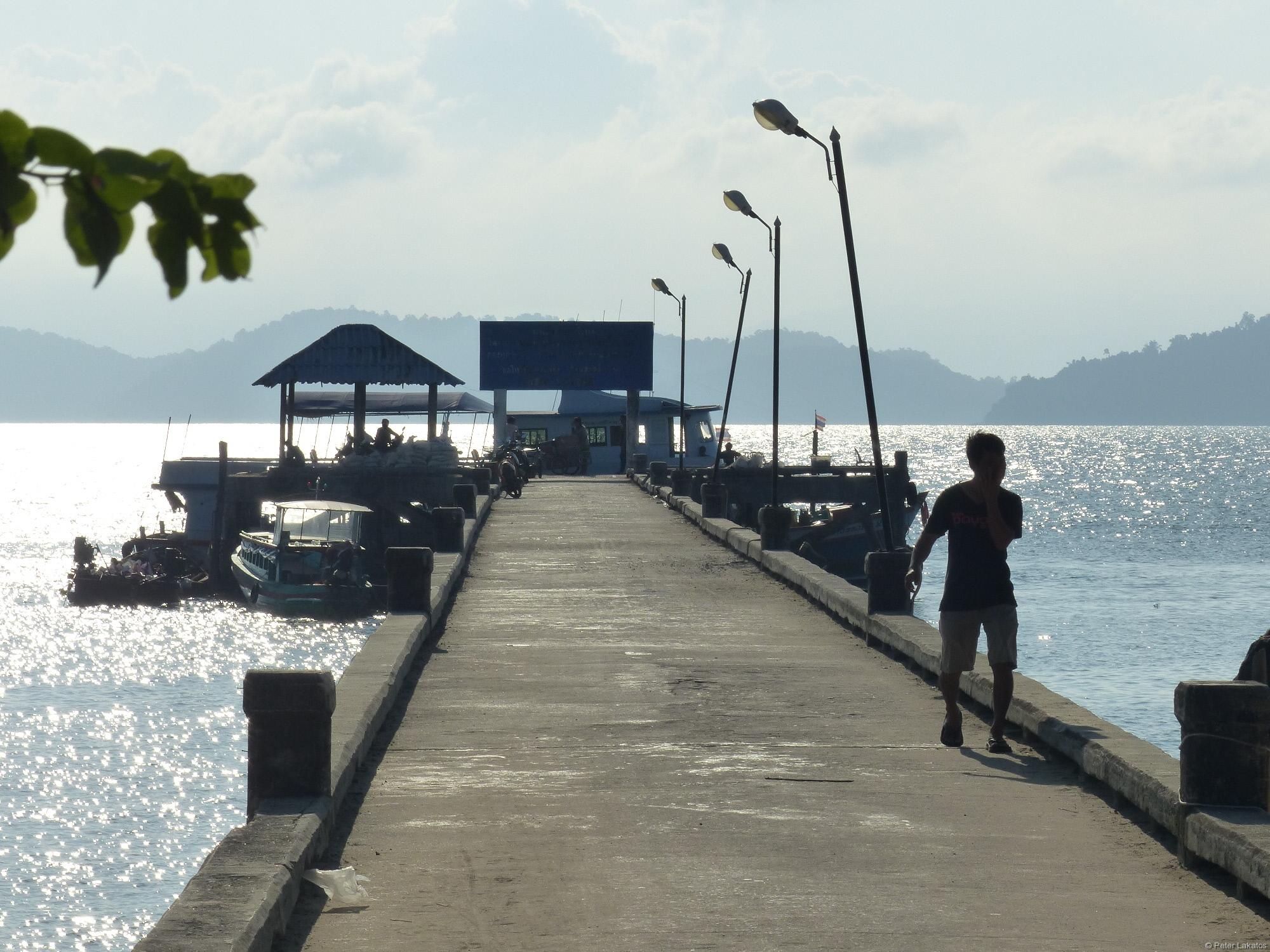 Abfahrt von Koh Phayam