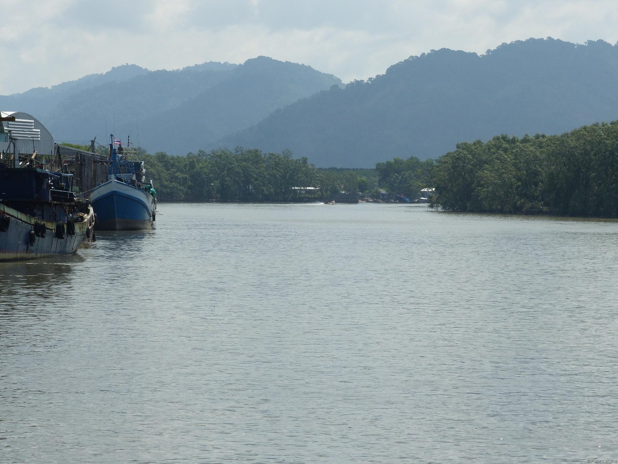 Ankunft mit dem Speedboat