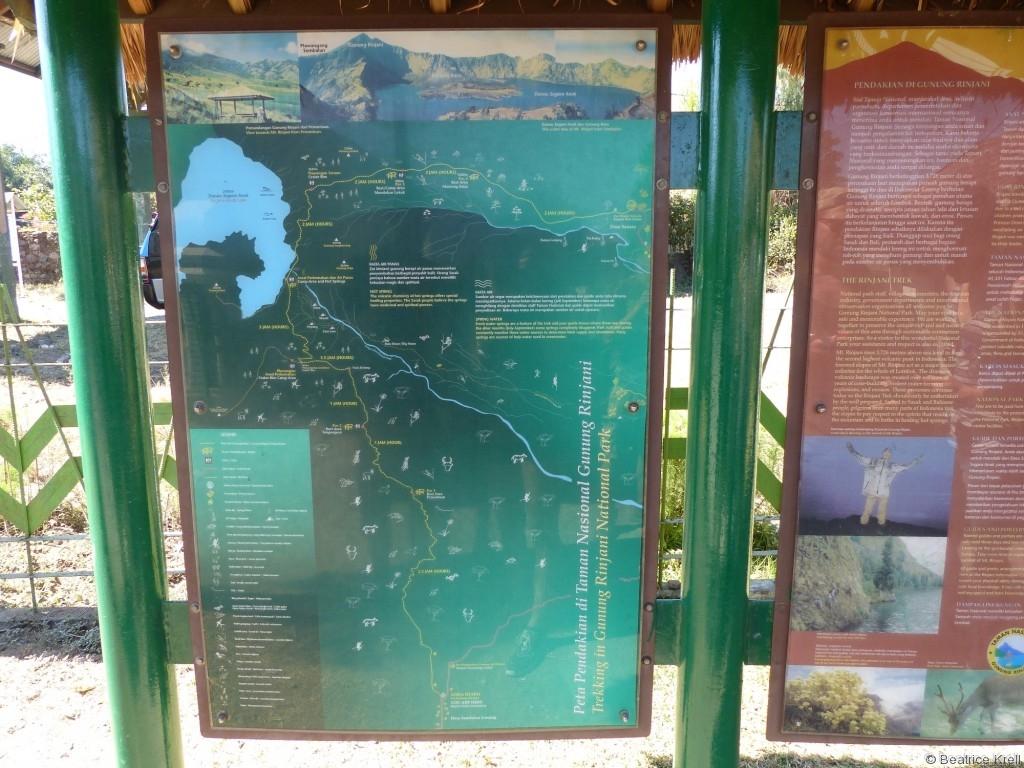 Tourplanung für Rinjani