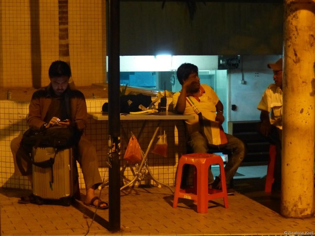 Busticketverkäufer in Kuala Lumpur