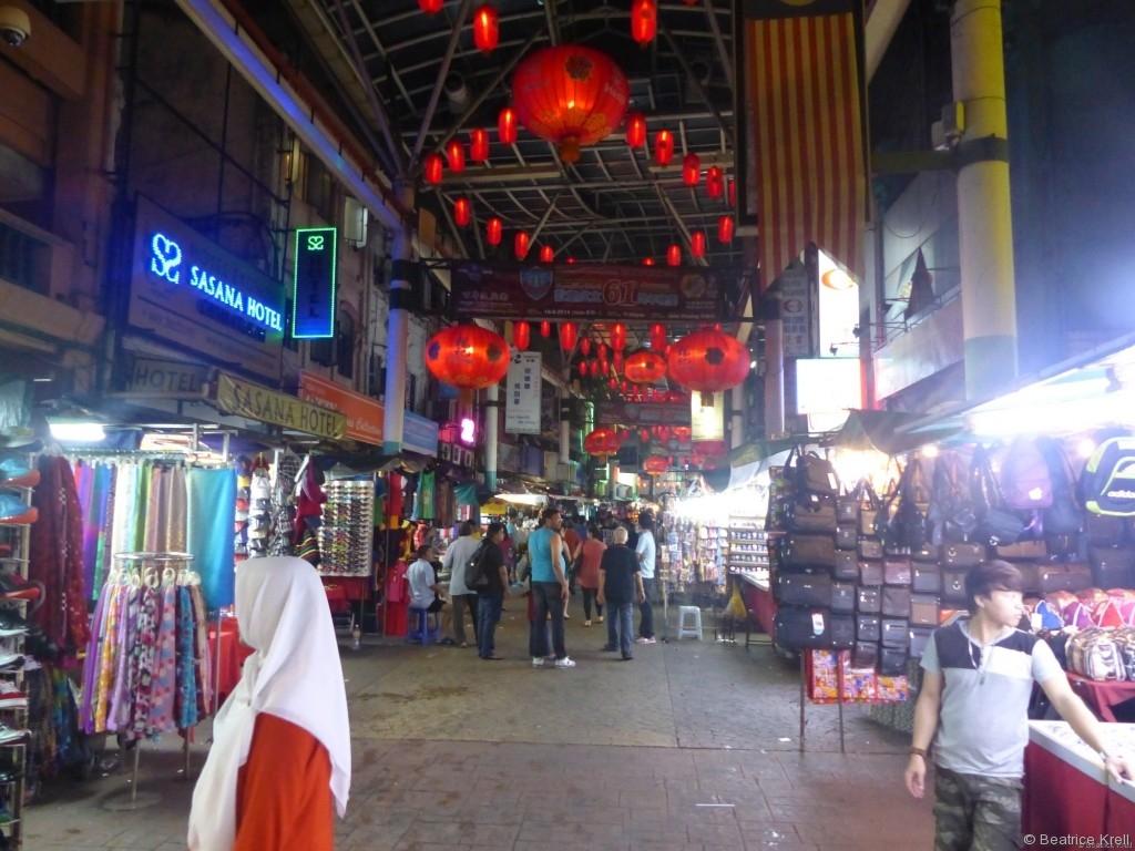 Chinesischer Nachtmarkt