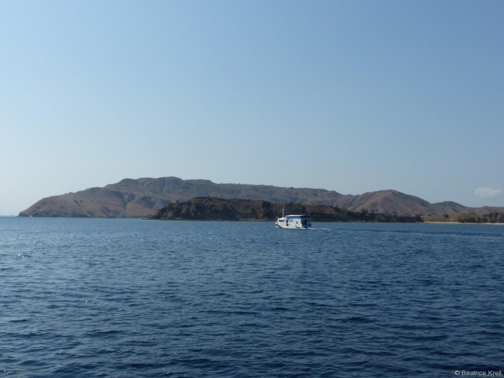 Das Meer war bei unserem Ausflug Gott sei Dank ruhig.