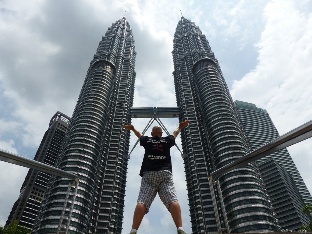 Das berühmteste Hochhaus in Kuala Lumpur - Petrona Twin Towers