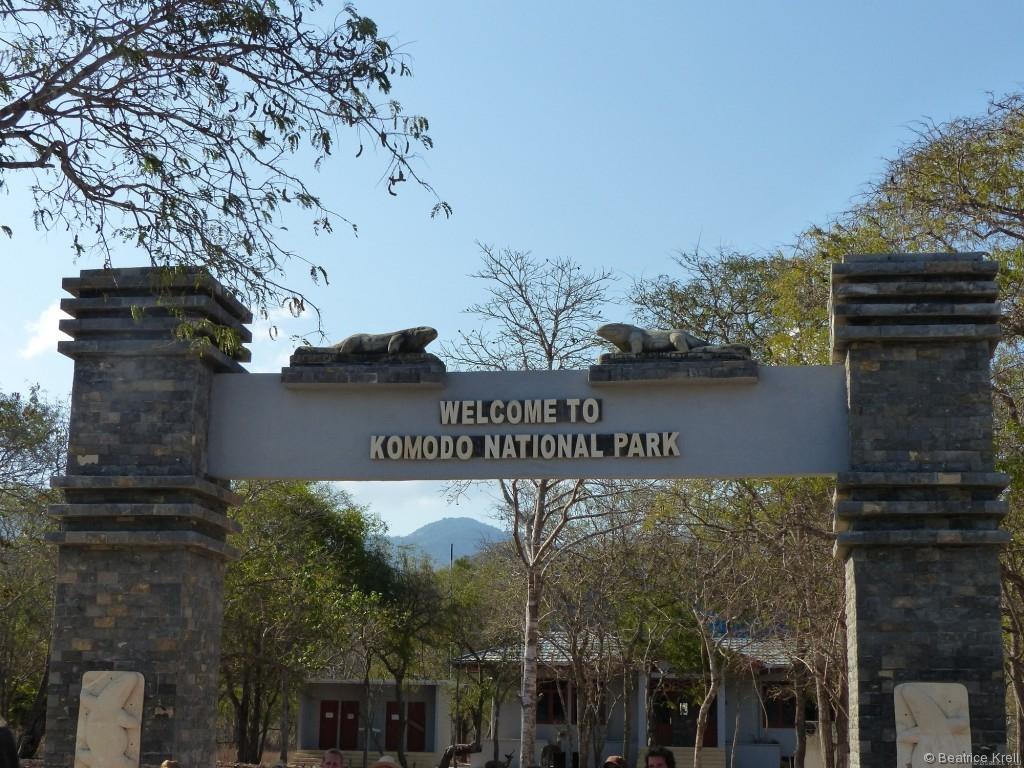 Komodo National Park auf der Insel Komodo