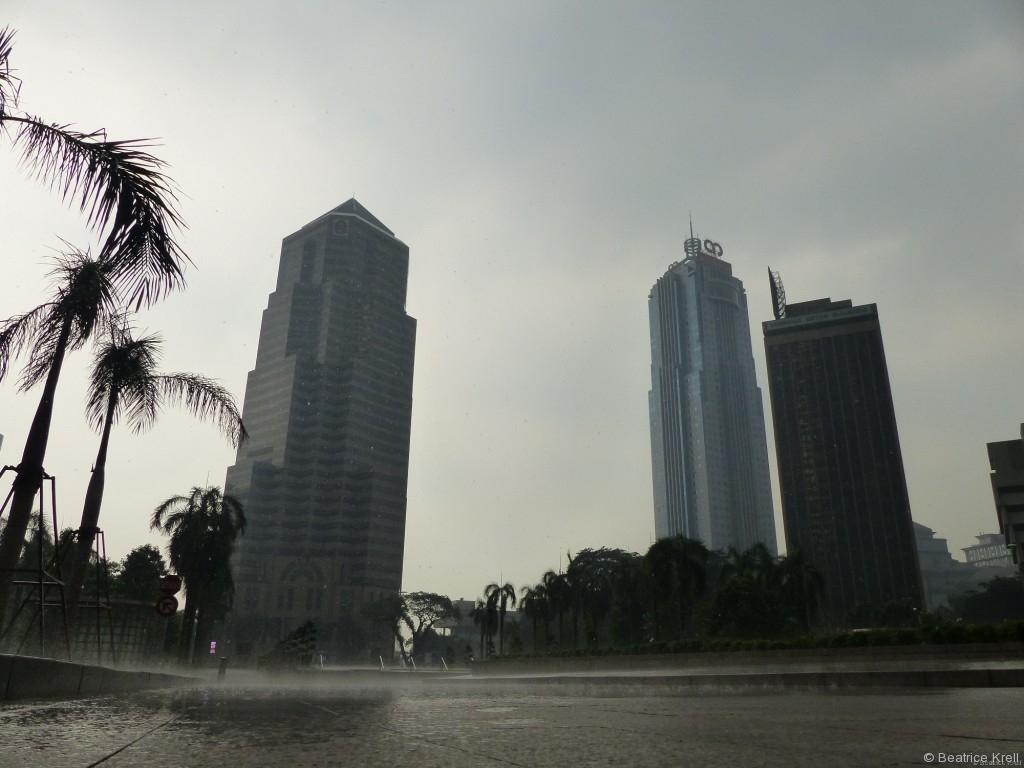 Sehr wechselhaftes Wetter in Kuala Lumpur