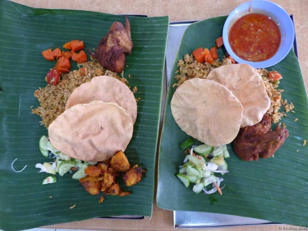An manchen Tagen in Kota Bharu waren wir einfach nur beim Essen.