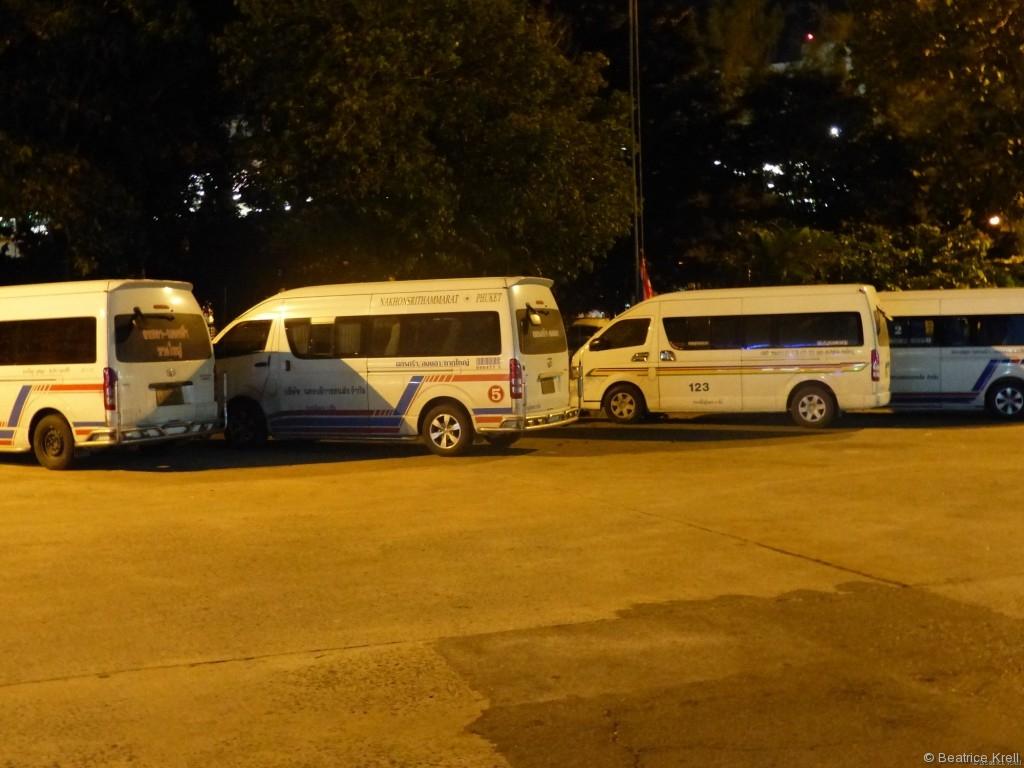 Anstrengende Reise von Malaysia nach Thailand mit den unterschiedlichsten Bussen