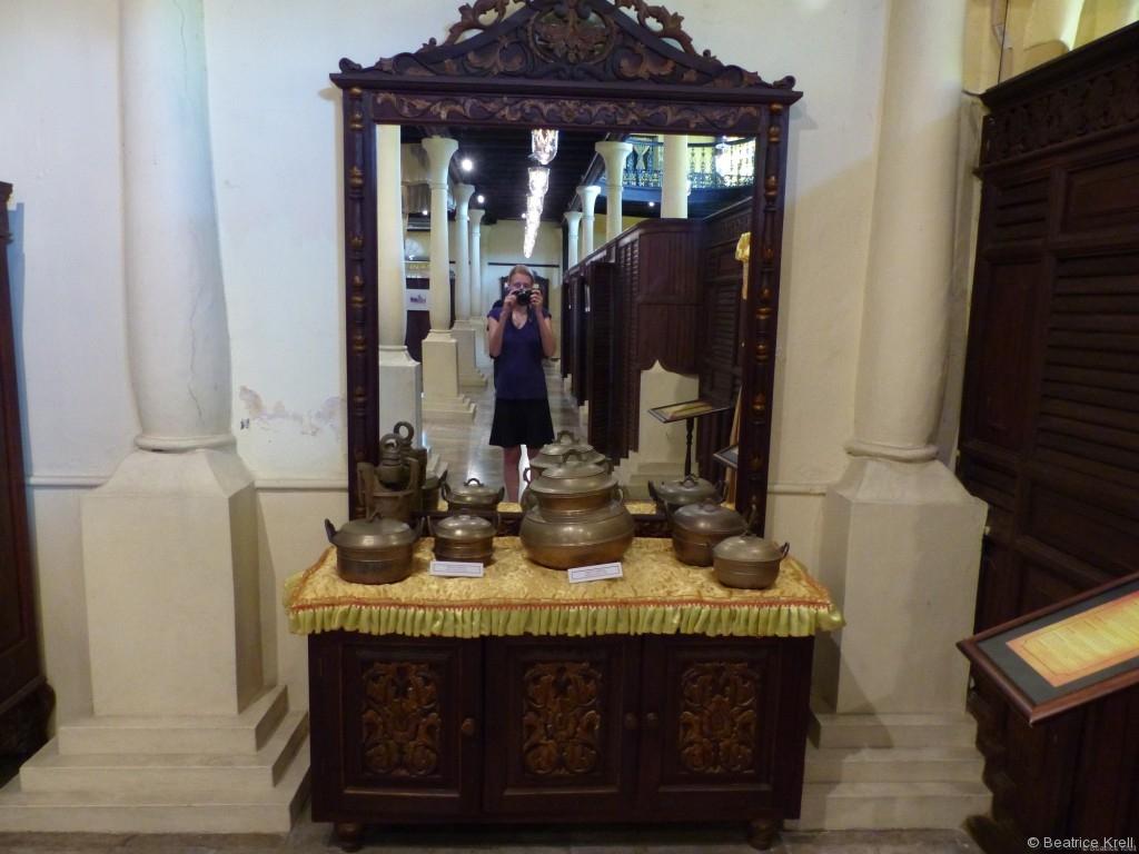 Damit wir was zu erzählen haben, sind wir ins Museum gegangen, aber außer Blödsinn, wie Selfies vor dem Spiegel ....