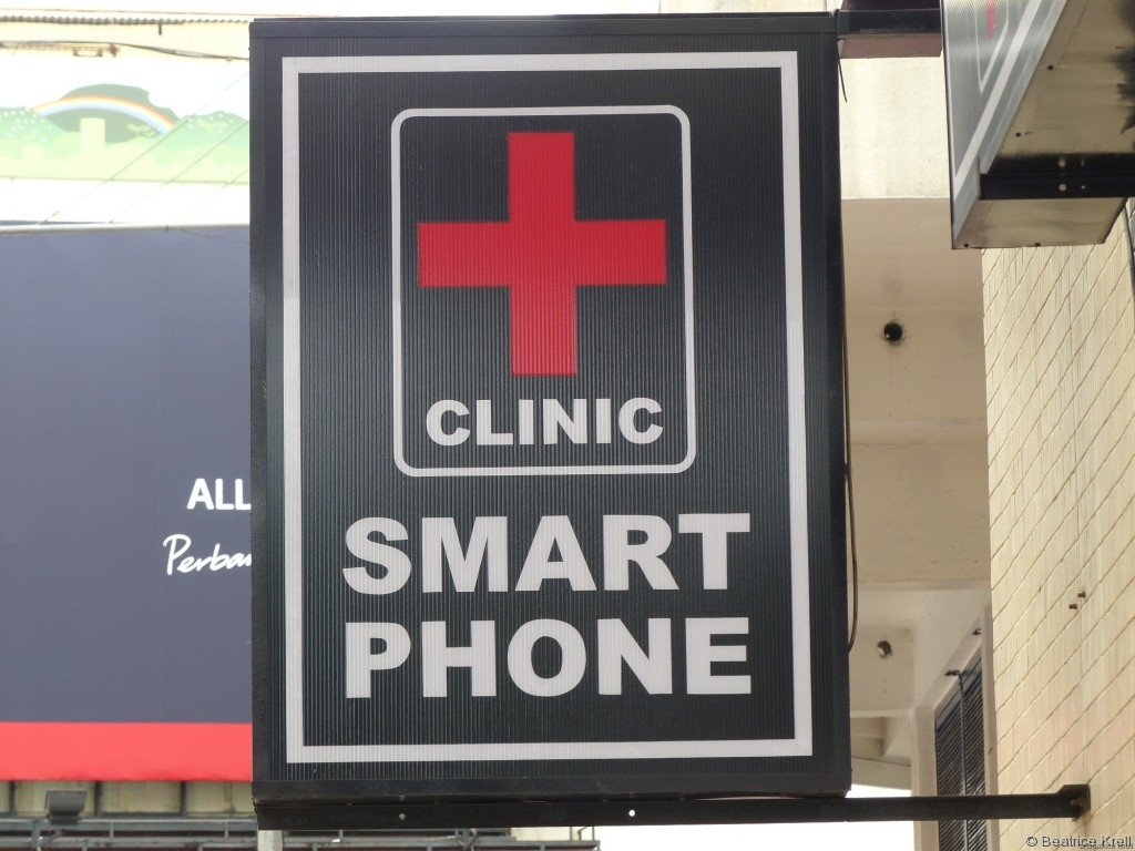 Smartphone-Klinik in Penang