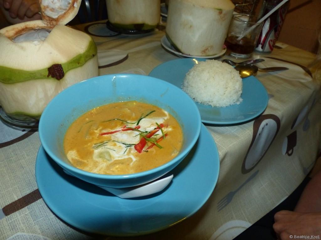 Thailändisches Curry mit Kokosnusssoße - Einfach unbeschreiblich lecker