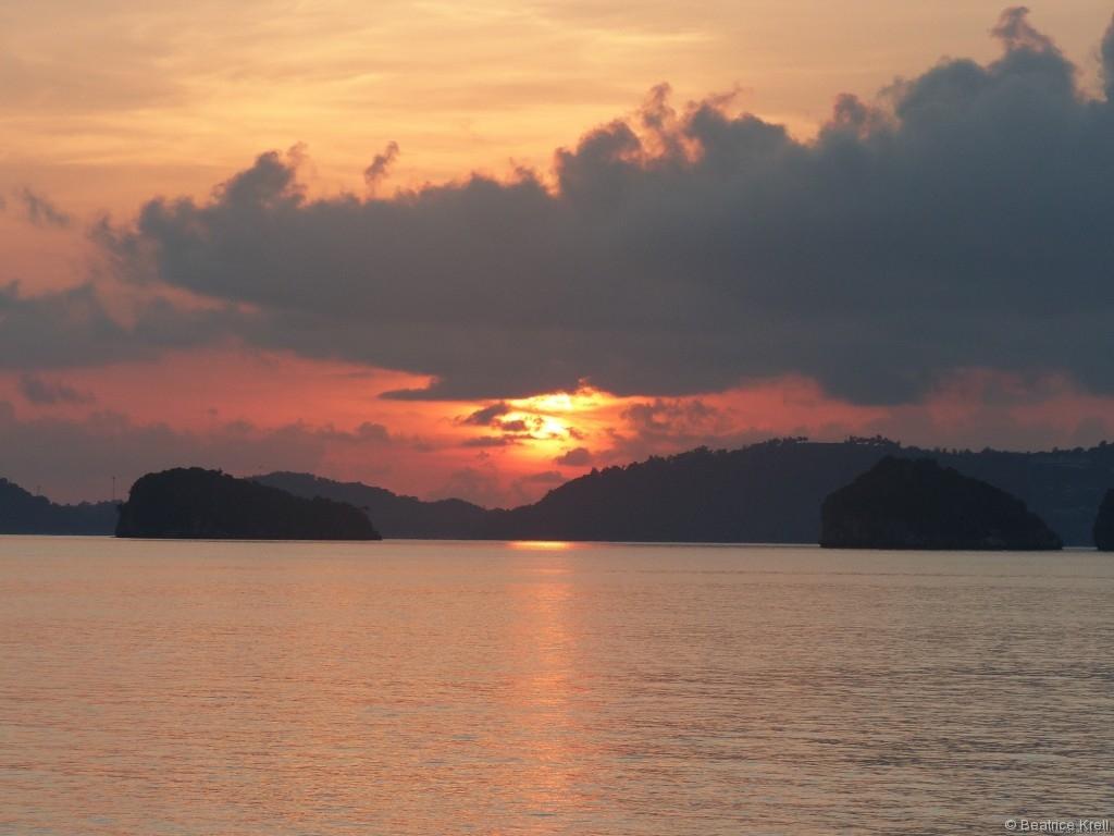 Trotzdem war die Reise nach Thailand sehr anstrengend.