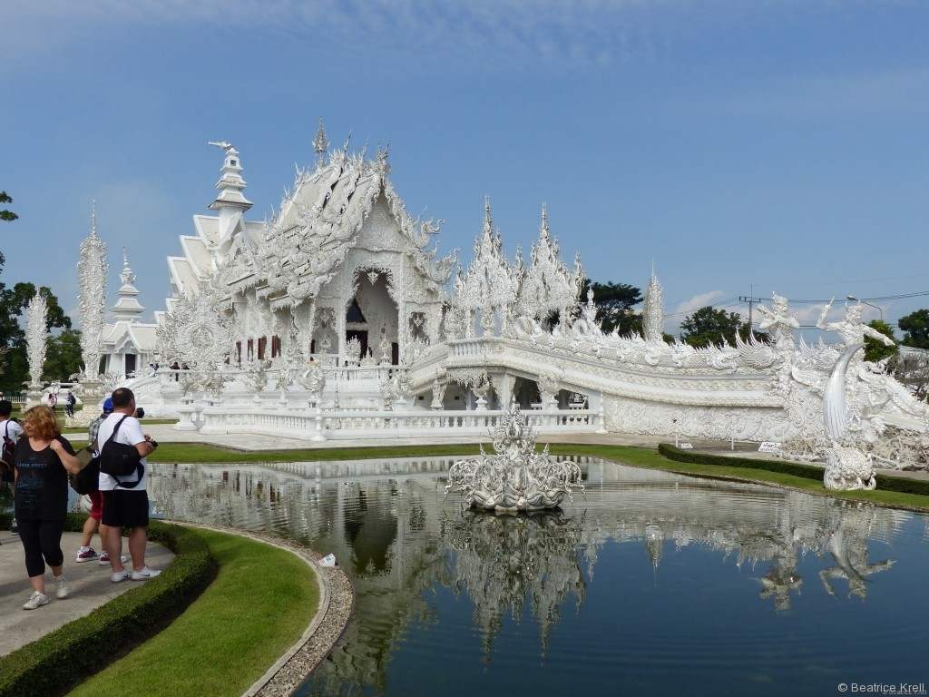 Der weiße Tempel - Wat Rong Khun
