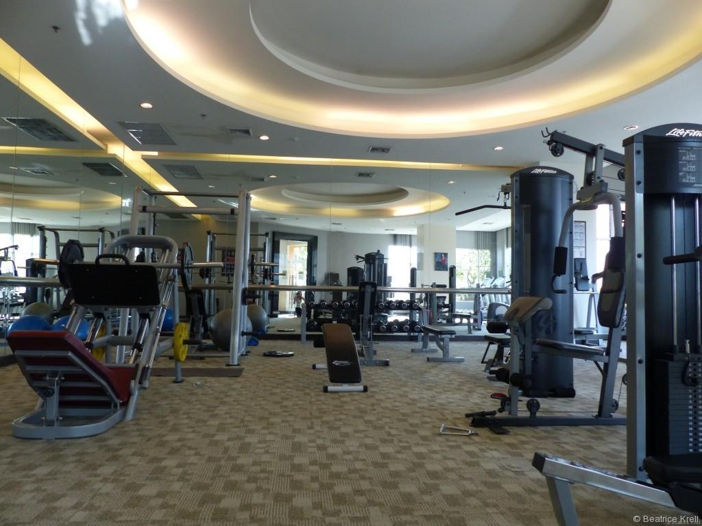 Fitnessstudio im Hotel