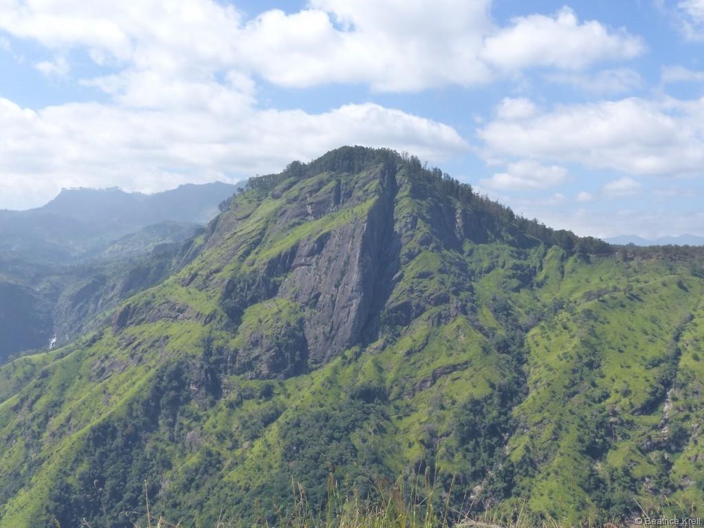 Aussicht von Small Adam's Peak