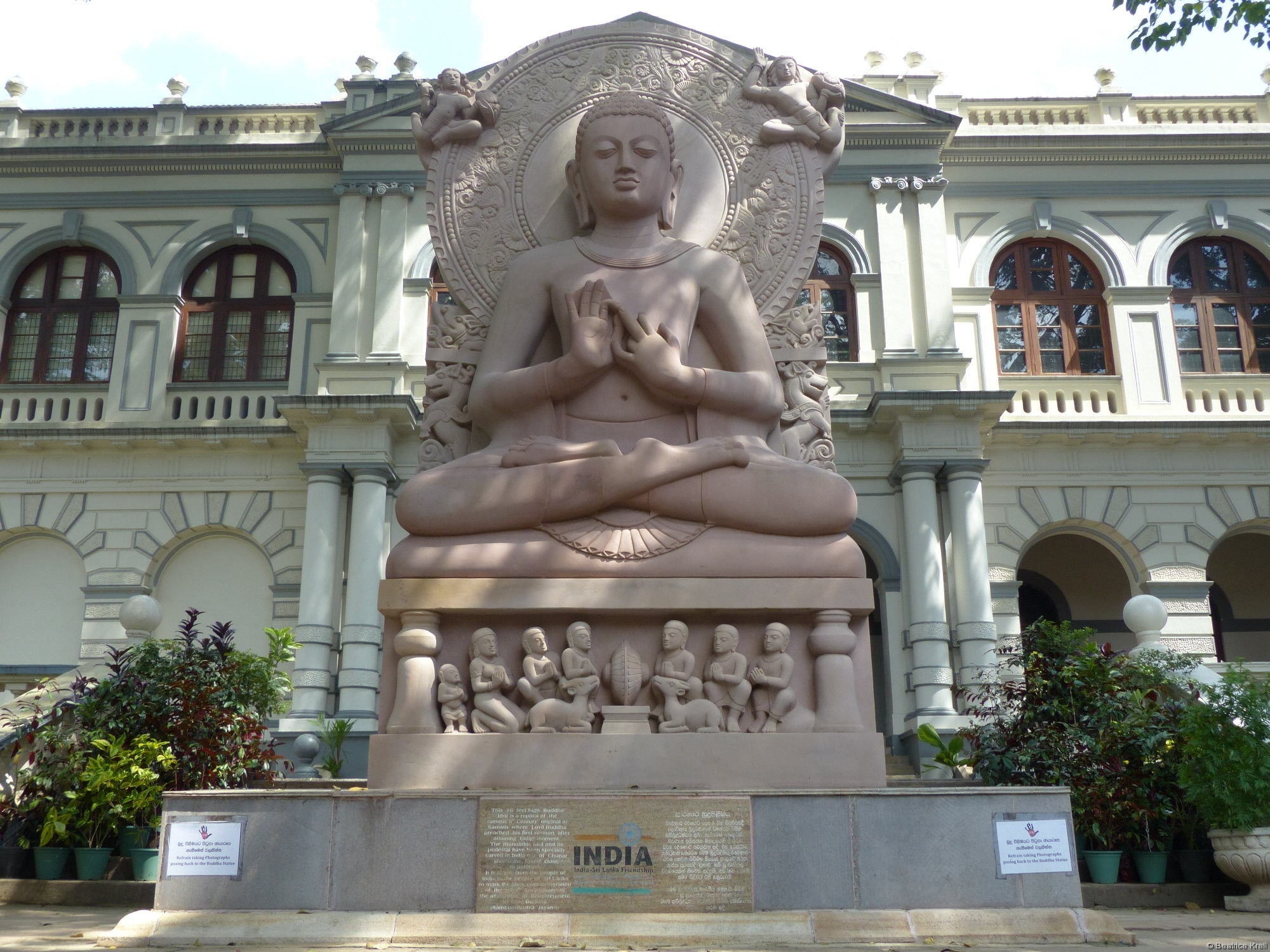 Buddha-Statue in Sri Dalada Maligawa