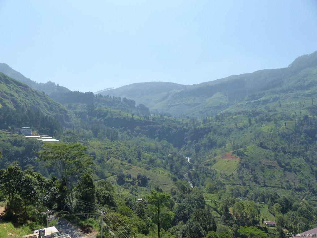 Die Aussicht von dem Hotel war ebenfalls wunderschön.
