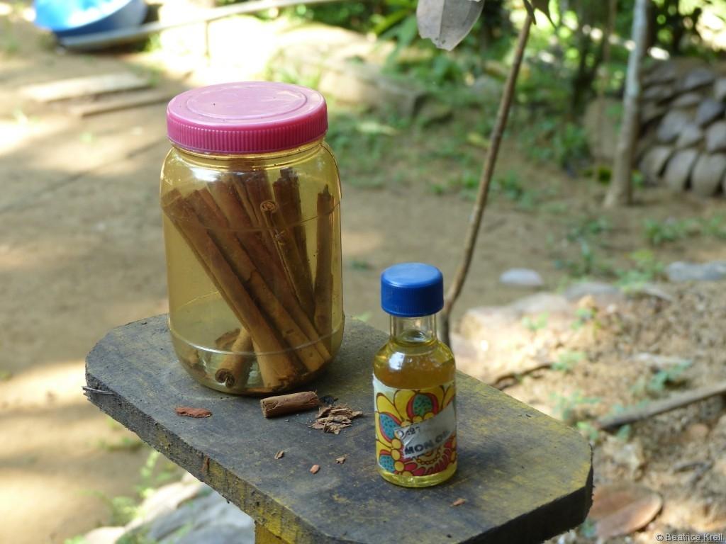 Im Kräutergarten werden natürliche Körperpflegeprodukte angeboten.