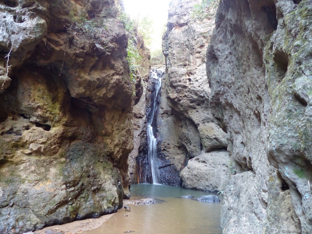 Pam Bok Wasserfälle