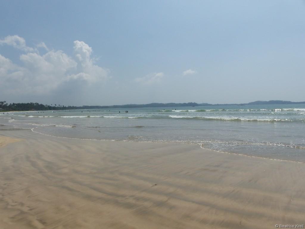 Wunderschöne Strände säumen Sri Lankas Küste.
