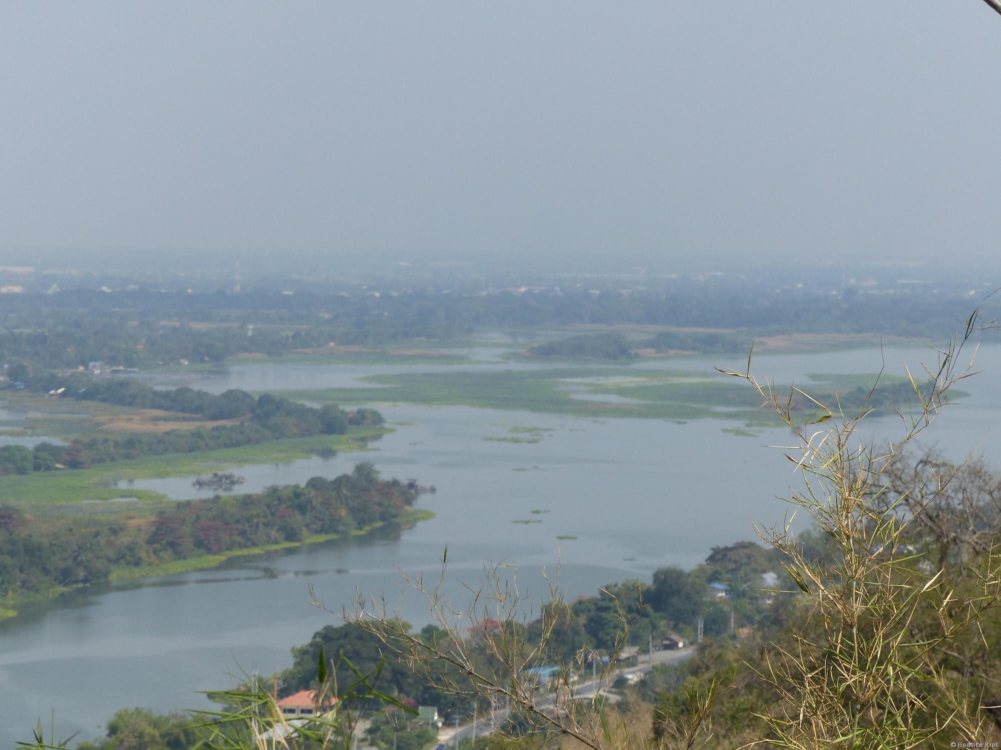 Aussicht vom Wat Ban Tham