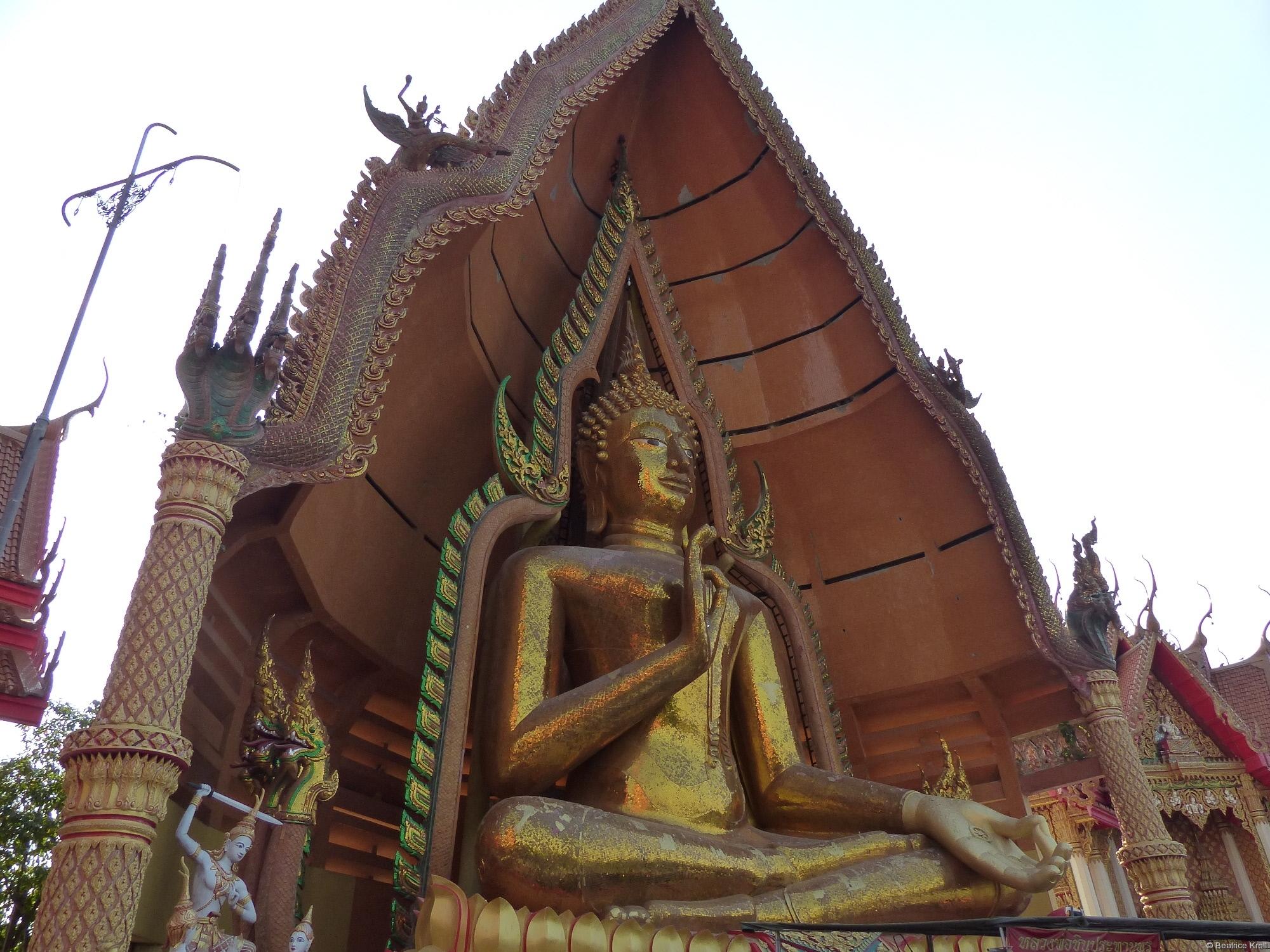 Buddhastatue in Wat Tham Seua