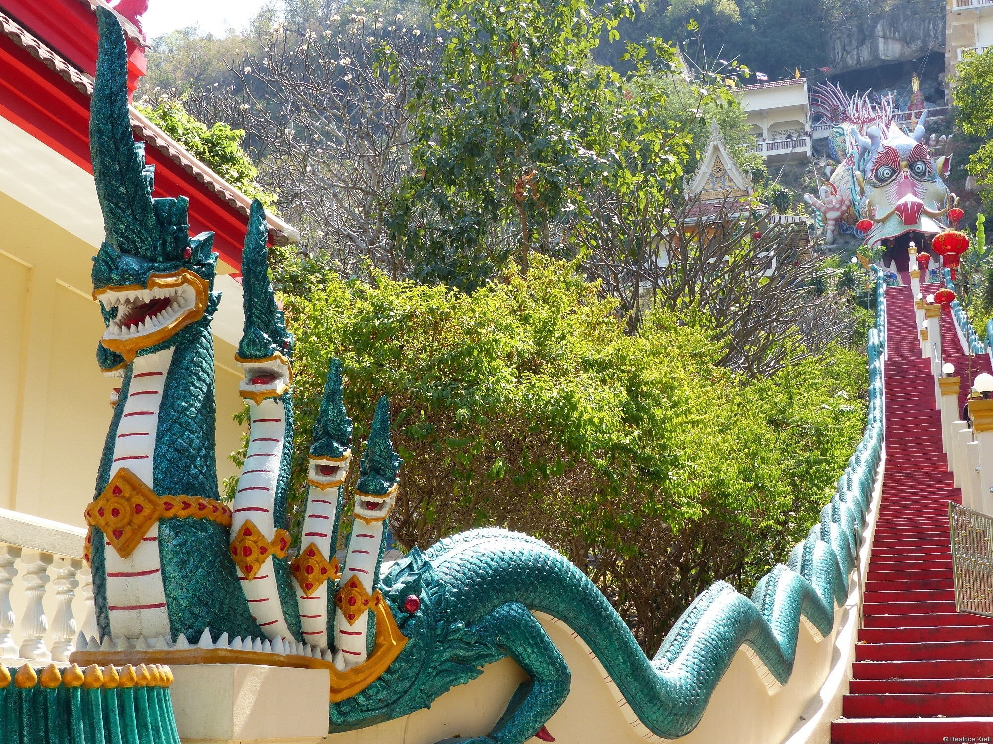 Eingang zum Wat Ban Tham