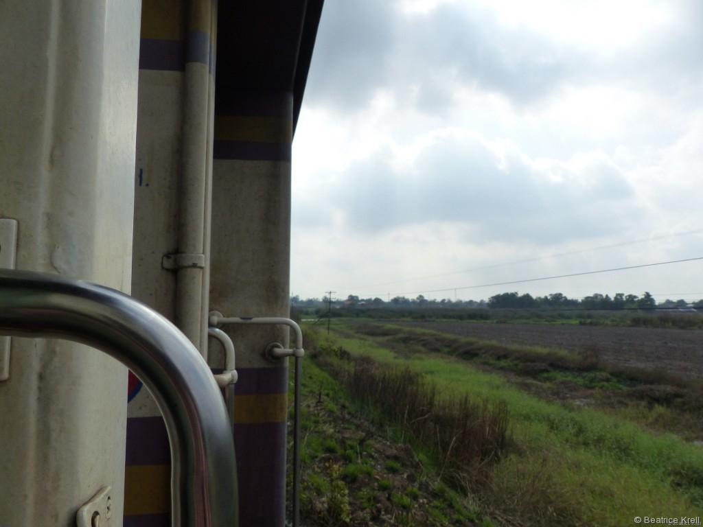 Bei gemütlicher Fahrt konnte man die schöne Aussicht genießen.