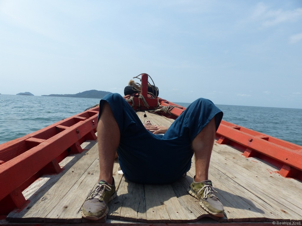 Bootsfahrt nach Rabbit Island