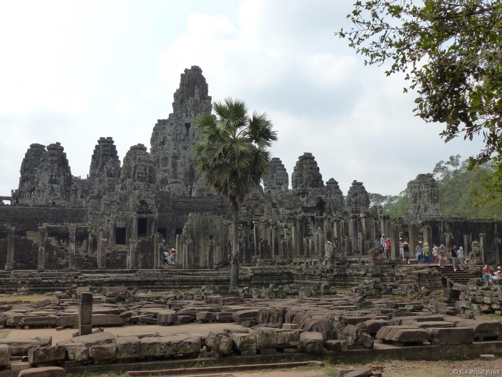 Die Tempelanlagen waren wirklich wunderschön, ...