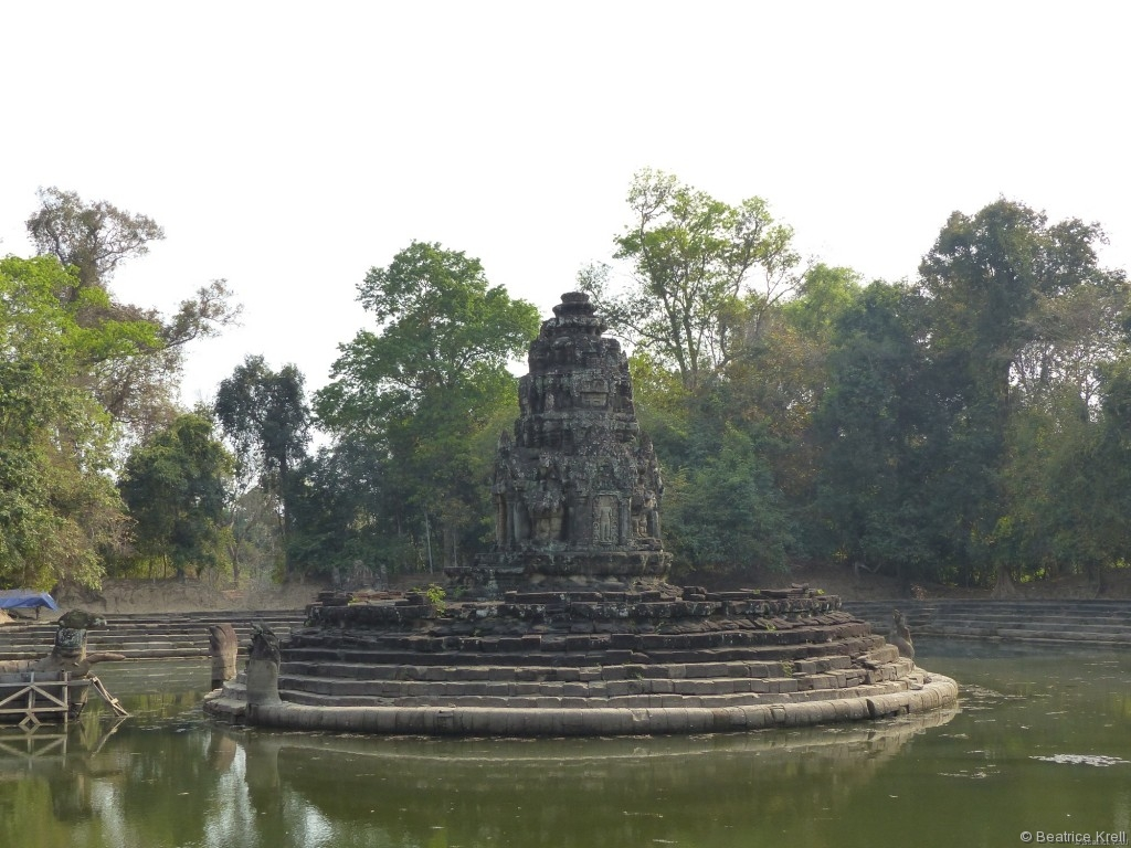 Und manchmal hatte man tatsächlich einen Tempel kurzzeitig für sich alleine.