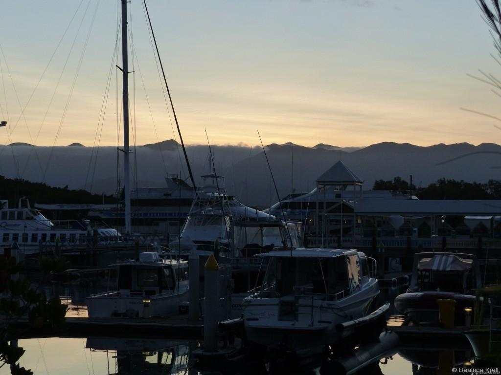 Der Hafen von Port Douglas ist ebenfalls schön anzuschauen.