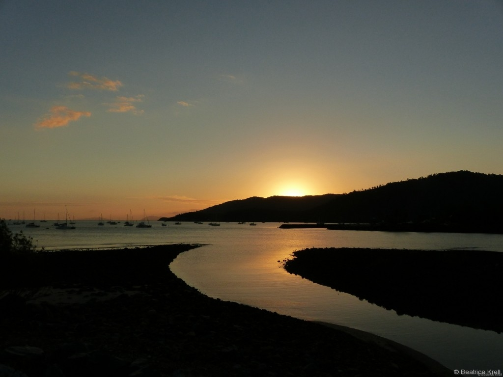 Sonnenaufgang in Airlie Beach