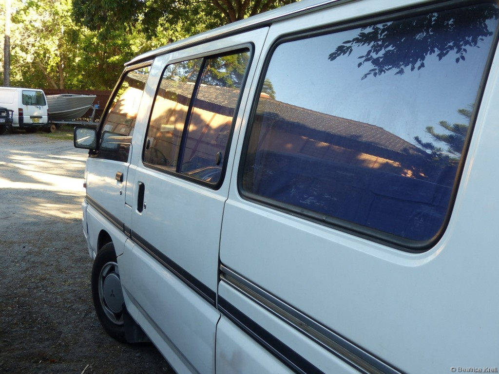 ... entschieden wir uns dann diesen Campervan zu kaufen, ...