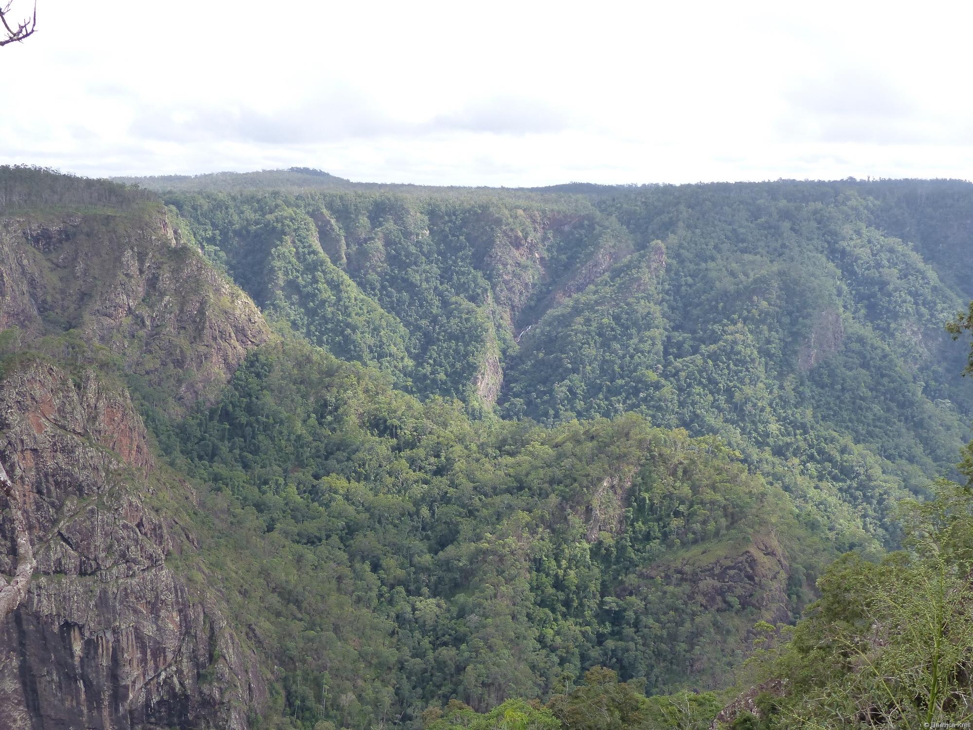 Die Aussicht bei den Wasserfällen war ebenfalls spektakulär.