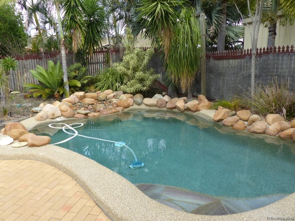 Haus mit eigenem Swimmingpool ... Was will man mehr?