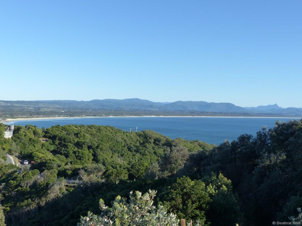 Die Aussicht vom Cape Byron Lighthouse ist fantastisch.